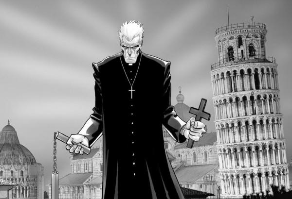 Don Zauker. Disegno di Daniele Caluri