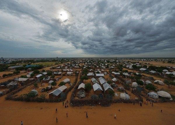 Il campo di Dadaab, a Nord di Nairobi. Tony Karumba/Getty Images.