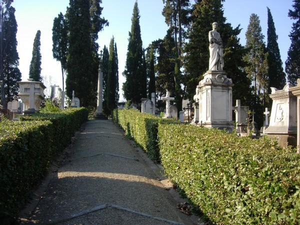 Cimitero degli inglesi, Firenze.