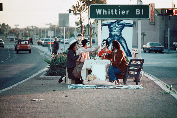 Harry Gamboa Jr., First Supper (after a Major Riot), 1974