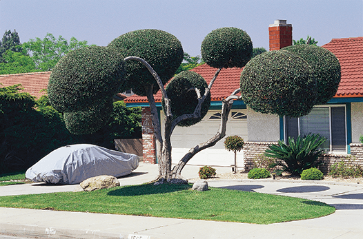 Tim Street-Porter, Streetscape in Buena Park, 2000