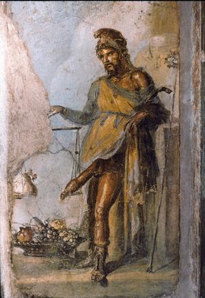 Priapus, Casa dei Vettii, Pompeii, 1st Century A.D.